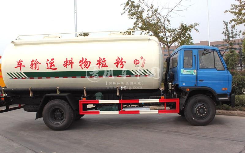东风153粉粒物料运输车