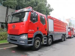 一汽解放水罐消防车 (4)