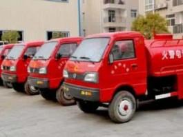 二手福田小卡之星2小型消防车