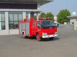 二手江铃2吨水罐消防车
