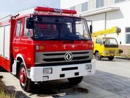 二手东风153水罐消防车(6吨)