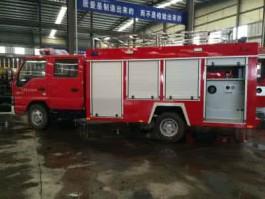 远程供水消防车