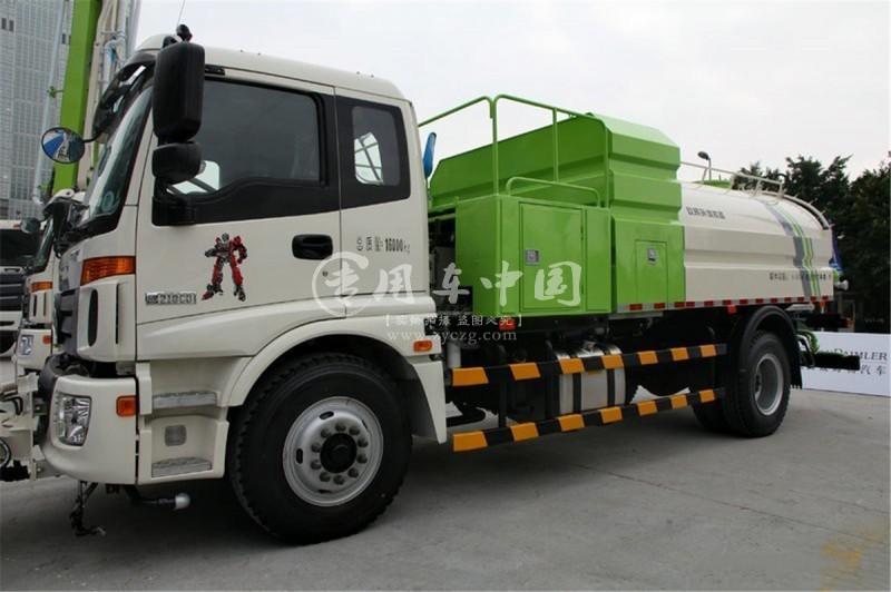 福田欧曼10方高压清洗车