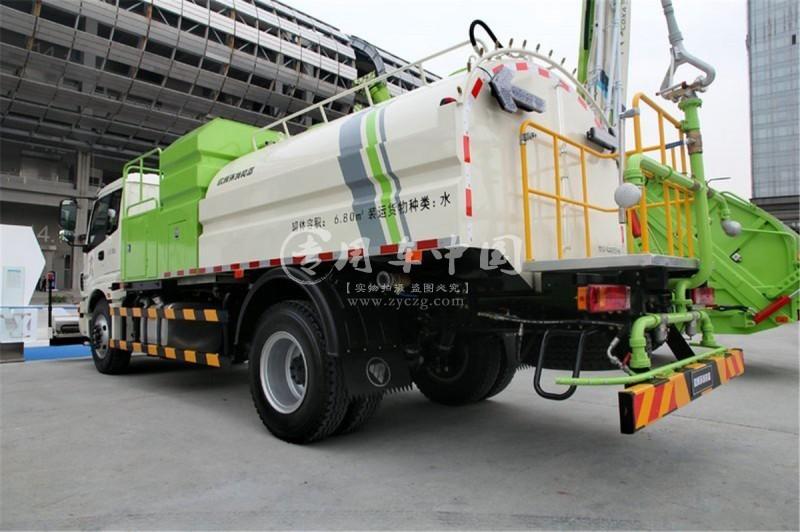 福田12方高压清洗车图片2