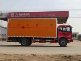二手福田欧曼6米1爆破器材运输车