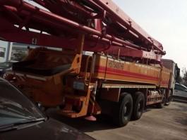 二手东风26米四节臂混泥土泵车