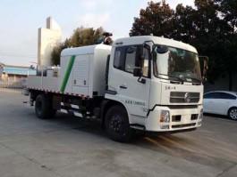 二手东风牌车载式混凝土泵车