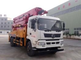 二手东风专致牌混凝土泵车