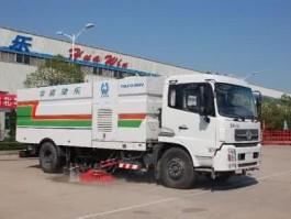 二手东风天锦大型干式扫路车
