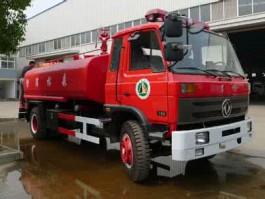 二手东风145消防洒水车|
