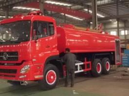 二手15吨消防洒水车