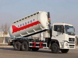 陕汽德龙22方二手干混砂浆运输车