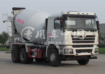陕汽SX1250FB搅拌车底盘