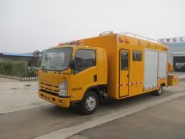 五十铃700P救险车带吊机 (5)
