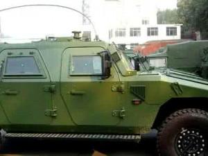 东风四驱越野防暴装甲车