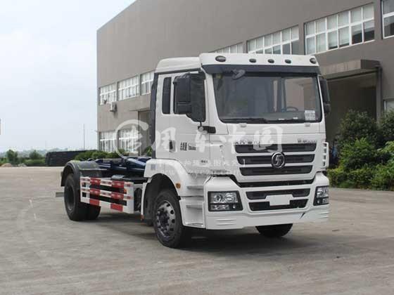 陕汽SX1160MA1车厢可卸式垃圾车底盘