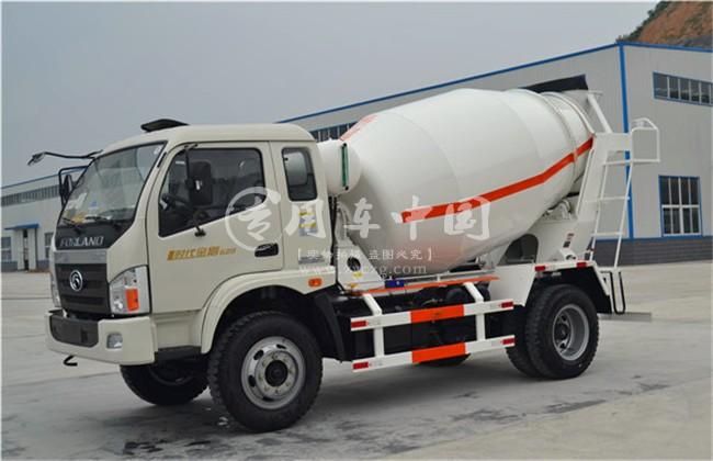 江山时代4方水泥搅拌车