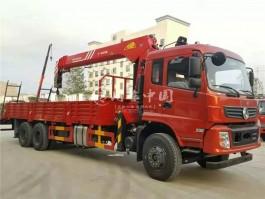 程力东风10吨随车吊价格