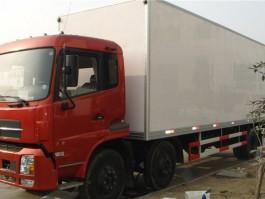 江南东风天锦小三轴8.6米冷藏车