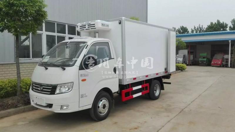 江南福田康瑞3米小型冷藏车