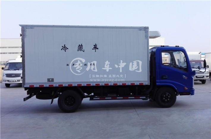 江南唐骏欧铃4米冷藏车