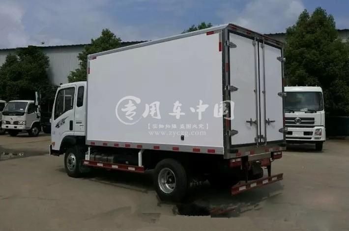 江南重汽王牌3.7米小型冷藏车