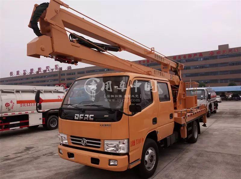 东风开普特14米高空作业车