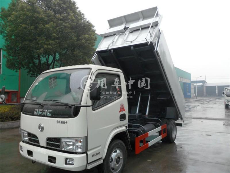 东风小多利卡自卸式垃圾车
