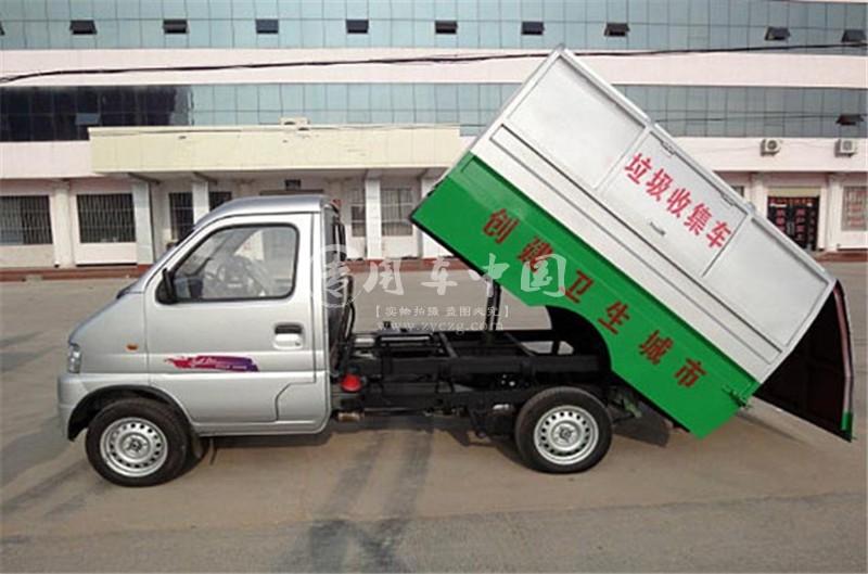 东风俊风密封式垃圾车