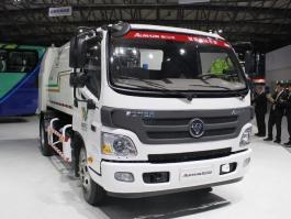 福田欧曼12方压缩式垃圾车