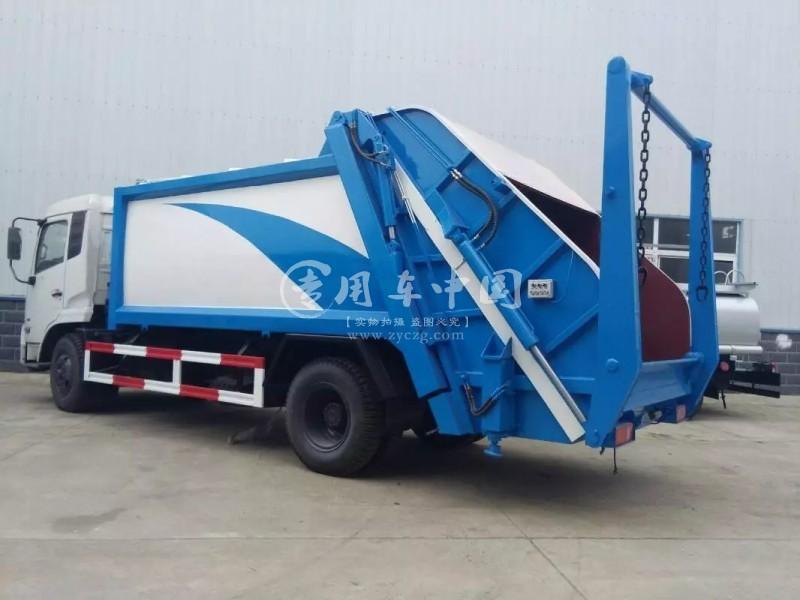 东风天锦12方压缩式垃东风天锦12方压缩式垃圾车圾车