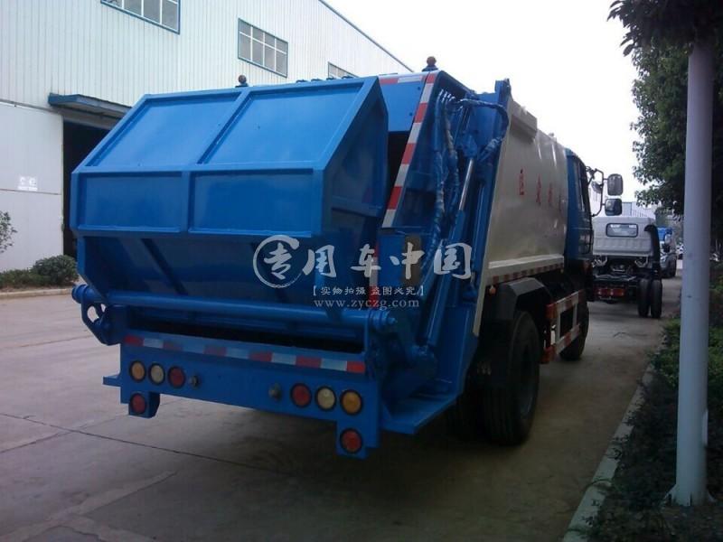 东风10方压缩式垃圾车