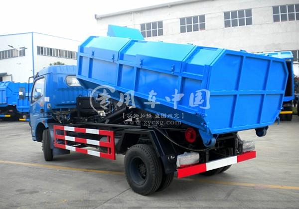 东风多利卡6方拉臂式垃圾车