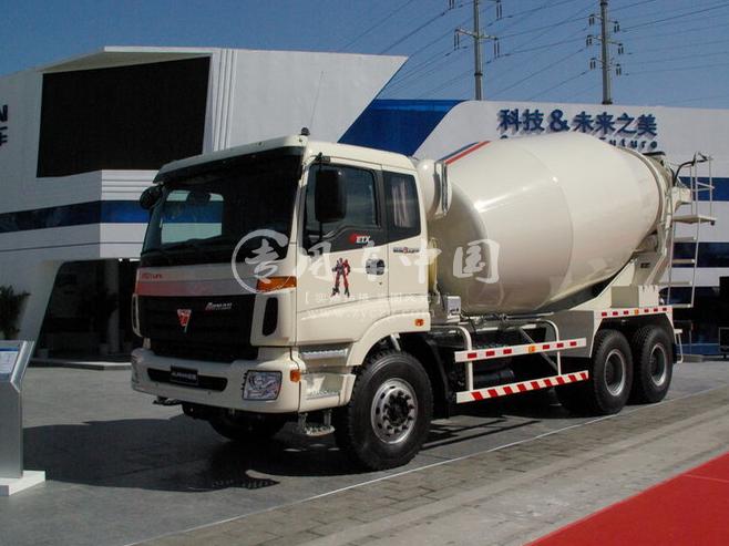 福田欧曼15方商砼车