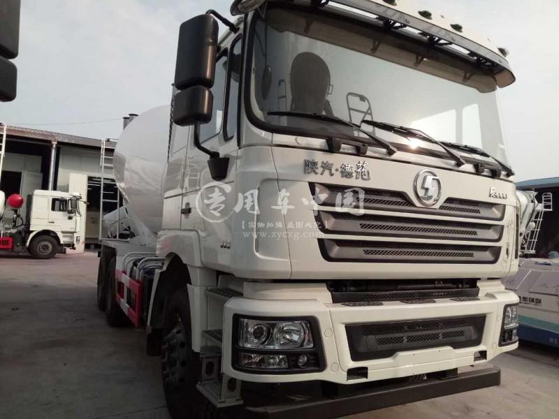 陕汽德龙10方商砼车