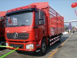 陕汽德龙L3000 6.8米仓栅车 (3)