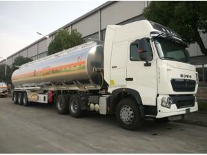30吨运油车半挂油罐车专业厂家