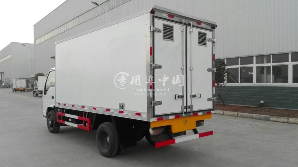 五十铃单排4米冷藏车价格:13.8万