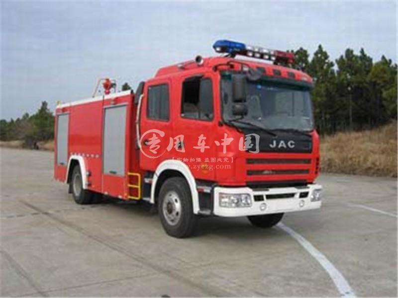 江淮双排水罐(泡沫)消防车