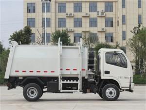 东风多利卡6方挂桶式垃圾车