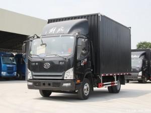 解放虎V4.2米厢式货车
