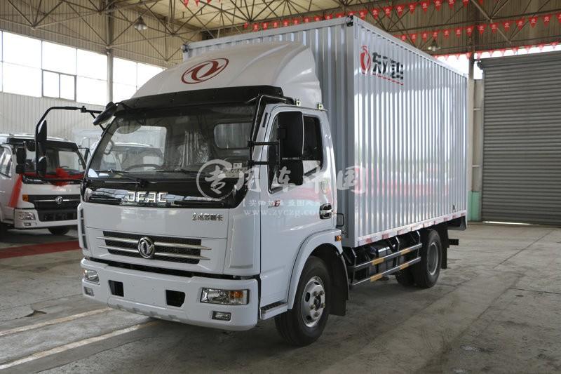 东风小型厢式货车图片