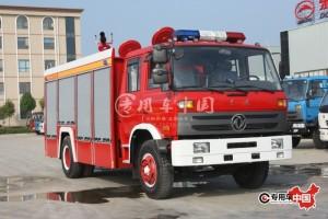 东风153型6.5方泡沫消防车