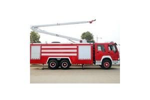 东风153型举高喷射消防车价格78万