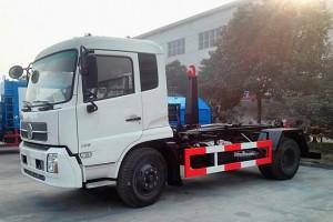 最新东风天锦12方钩臂式垃圾车价格20.58万