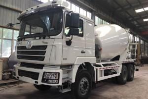 最新陕汽德龙12方水泥搅拌车价格37.3万