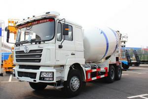 最新陕汽德龙12方混凝土搅拌车价格37.3万