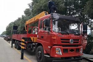 东风12吨随车吊车价格31.6万