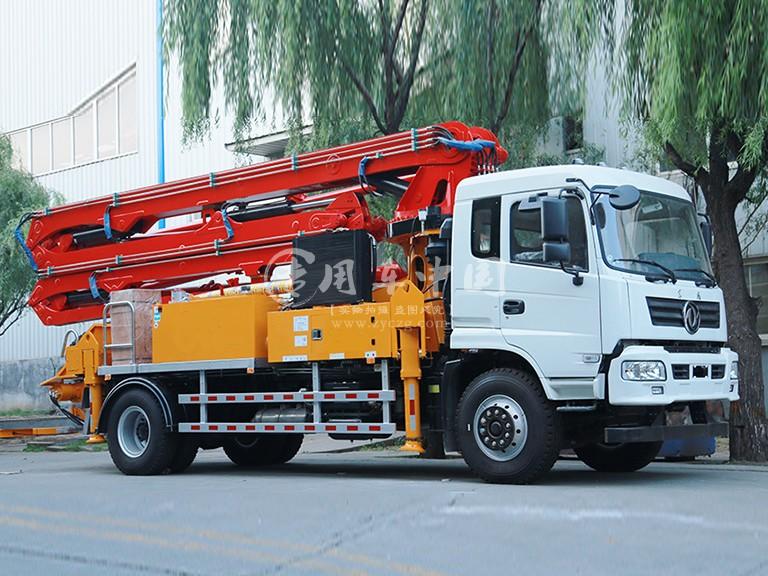 东风随专25米混泥土泵车