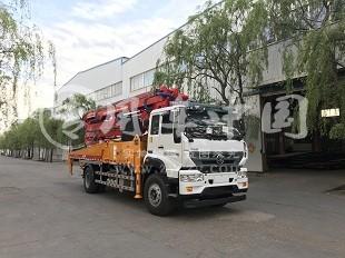 华一重汽T5G35米混凝土泵车